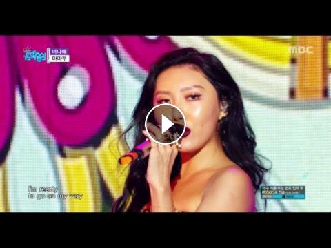 HOT]MAMAMOO - Egotistic, 마마무 - 너나 해 Show Music core 20180804