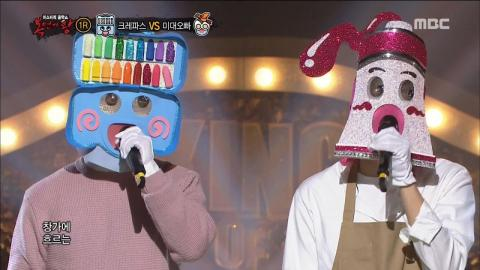 King of masked singer] 복면가왕 - 'dreamcatcher' VS