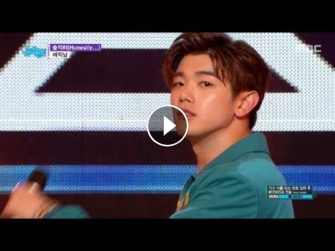 HOT] ERIC NAM - Honestly   , 에릭남 - 솔직히 Show Music core